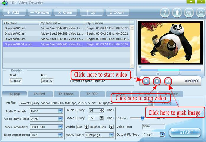iLike Video Converter screenshot
